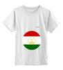 """Детская футболка классическая унисекс """"Флаг Таджикистана"""" - таджикистан, флаг"""