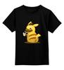 """Детская футболка классическая унисекс """"Нет ничего более неясного, чем очевидный факт."""" - pokemon, покемон"""