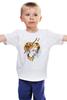 """Детская футболка классическая унисекс """"Долли"""" - девушка, ярко, мозаика, овечка долли"""