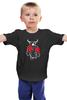 "Детская футболка классическая унисекс ""Бык боксер"" - спорт, бокс, бык, bull"