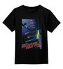 "Детская футболка классическая унисекс ""Escape from New York / Побег из Нью Йорка"" - ny, афиша, kinoart, курт рассел, побег из нью-йорка"