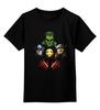 """Детская футболка классическая унисекс """"Без названия"""" - супергерои, железный человек, капитан америка, тор, халк"""
