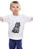 """Детская футболка классическая унисекс """"Кот из фильма """"Пыль"""""""" - кот, котэ, концептуально, пыль, футболки из фильмов"""