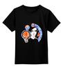 """Детская футболка классическая унисекс """"Потеряный"""" - мозаика, иллюстрация, яркий принт, потеряный"""