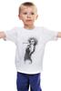 """Детская футболка классическая унисекс """"Marilyn Monroe"""" - актриса, marilyn monroe, мерилин монро, фотомодель, в джазе только девушки"""
