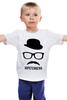 """Детская футболка классическая унисекс """"Хипстенберг (Во все тяжкие)"""" - во все тяжкие, breaking bad, hipstenberg, хипстенберг"""