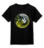"""Детская футболка классическая унисекс """"Чужой против Хищника"""" - хищник, alien, чужой, predator"""