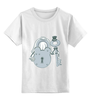 """Детская футболка классическая унисекс """"Жених и невеста"""" - свадьба, жених, невеста, влюбленным"""