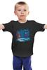 """Детская футболка классическая унисекс """"Красная Шапочка и Тардис"""" - doctor who, доктор кто, тардис"""