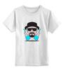 "Детская футболка классическая унисекс ""Heisenberg (Breaking Bad)"" - во все тяжкие, breaking bad, heisenberg"