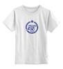 """Детская футболка классическая унисекс """"Зенит"""" - зенит, футбол, цска, терек, фанатская, санкт-петербург, футбольный клуб, рфл, ногомяч, рубин"""
