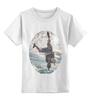 """Детская футболка классическая унисекс """"touch the sky"""" - спорт, небо, экстрим, skydiving"""