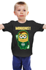 """Детская футболка """"Зелёный Фонарь"""" - мульт, миньоны, green lantern, гадкий я, зелёный фонарь"""