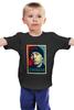 """Детская футболка классическая унисекс """"Эминем (Eminem)"""" - поп арт, рэп, obey, eminem, эминем"""