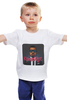 """Детская футболка """"Kanye West"""" - kanye west, рэпер, rapper, кени вест, канье уэст, канье уест"""