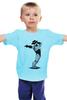 """Детская футболка классическая унисекс """"Robocop x Jackson"""" - пародия, майкл джексон, mj, robocop, робот полицейский"""