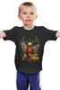 """Детская футболка классическая унисекс """"true detective """" - true detective, настоящий детектив"""