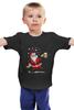 "Детская футболка ""Happy New Year"" - праздник, прикол, happy new year, новый год, дед мороз, santa claus"