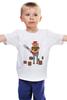 """Детская футболка классическая унисекс """"Лесоруб                  """" - бензопила, лес, лесоруб"""