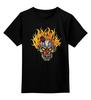 """Детская футболка классическая унисекс """"Evil Clown"""" - skull, череп, клоун, evil, clown"""