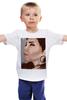 """Детская футболка классическая унисекс """"Девушка"""" - арт, девушка, girl, рисунок, красота, woman, beauty"""