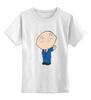 """Детская футболка классическая унисекс """"    Стьюи"""" - funny, family guy, evil genius"""