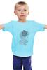 """Детская футболка классическая унисекс """"-Wolf-"""" - арт, волк, wolf"""