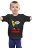 """Детская футболка классическая унисекс """"Tony Banana"""" - сочи, losadleras, los adleras, kotashi, amigos del sur, стиль южного побережья, адлер"""
