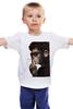 """Детская футболка классическая унисекс """"Обезьяна курильщик"""" - животные, обезьяна, monkey, не курить"""