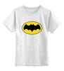 """Детская футболка классическая унисекс """"бэтмен"""" - batman, бэтмен, dc, dc комиксы"""