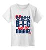 """Детская футболка классическая унисекс """"The Notorious B.I.G."""" - rap, biggie, the notorious big, бигги"""