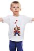 """Детская футболка """"Марио (Тетрис)"""" - mario, tetris, тетрис"""