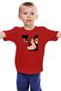 """Детская футболка классическая унисекс """"Люблю Мики"""" - кошка, мики маус, дизайн, мики, женщина кошка"""