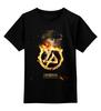 "Детская футболка классическая унисекс ""Linkin Park - Burning in the skies"" - арт, linkin park, тур, exlusive, 2015"