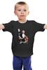 """Детская футболка классическая унисекс """"Lady Gaga"""" - звезда, мода, lady gaga, леди гага"""
