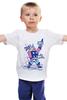 "Детская футболка ""Бог Рока (Rock God)"" - гитара, рок звезда, бог рока, rock god"