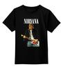 "Детская футболка классическая унисекс ""Nirvana Kurt Cobain Live & Loud t-shirt"" - grunge, nirvana, kurt cobain, курт кобейн, нирвана"