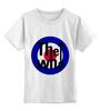 """Детская футболка классическая унисекс """"The Who"""" - music, the who"""