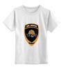 """Детская футболка классическая унисекс """"Лев Против"""" - лев, проект, движение, против, общественное"""