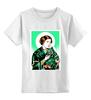 """Детская футболка классическая унисекс """"Преподобная Лея"""" - прикол, star wars, звездные войны, икона, leya"""
