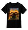 """Детская футболка классическая унисекс """"Doom game"""" - игра, game, doom, 90's, video games, дум"""
