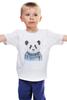 """Детская футболка """"Панда"""" - панда, panda"""