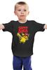 """Детская футболка классическая унисекс """"SUPERPIKA"""" - игры, аниме, пикачу, super mario, супер марио, pikachu"""