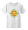 """Детская футболка классическая унисекс """"Ом                 """" - ом, свастика, индуизм, мантра"""