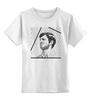 "Детская футболка классическая унисекс ""Belmondo"" - портрет, kinoart, belmondo, бельмондо, жан-поль бельмондо"