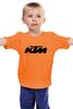 """Детская футболка классическая унисекс """"KTM moto"""" - motorcycle, bikes, ktm"""