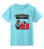 """Детская футболка классическая унисекс """"World of Tanks"""" - games, игры, игра, game, red, world of tanks, танк, танки, tank, wot"""