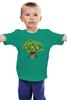 "Детская футболка ""iCalistini The Life Tree Дерево Жизни"" - счастье, tree, дерево жизни, icalistini"