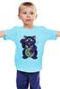 """Детская футболка классическая унисекс """"Манэки-Нэко (Кот Счастья)"""" - cat, кот счастья, манэки-нэко"""