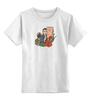 """Детская футболка классическая унисекс """"9-ый Доктор Кто"""" - доктор кто, ты моя мамочка, пустой ребенок, кристофер эклстон, 9 доктор"""